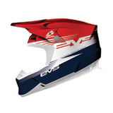EVS T5 Works Helmet Red/White/Blue