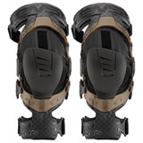 EVS Axis Pro Knee Brace Pair Black/Copper