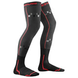 EVS Fusion Knee Brace Socks Black/Red