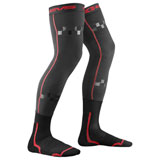 EVS Youth Fusion Knee Brace Socks Black/Red