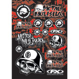 Factory Effex Metal Mulisha Sticker Sheet 1