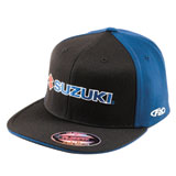 Factory Effex Suzuki Flex Fit Hat Blue/Black