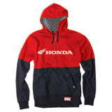 Factory Effex Honda Double Zip-Up Hooded Sweatshirt