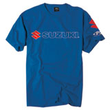 Factory Effex Suzuki Team T-Shirt  Blue