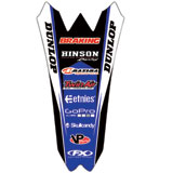 Factory Effex Rear Fender Decal Blue