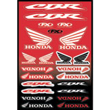 Factory Effex Honda CBR Sticker Sheet