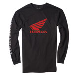 Factory Effex Honda Long Sleeve T-Shirt  Black