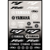 Factory Effex Yamaha R1/R6 Sticker Sheet
