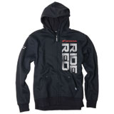 Factory Effex Honda Ride Red Zip-Up Hooded Sweatshirt