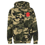 Factory Effex Suzuki Hooded Pullover Sweatshirt