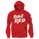 Factory Effex Youth Honda Hooded Sweatshirt Red