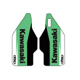 Factory Effex OEM Lower Fork Decal Green