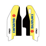 Factory Effex OEM Lower Fork Decal Yellow