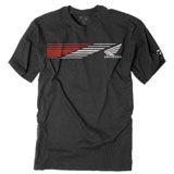 Factory Effex Honda Speed T-Shirt Charcoal
