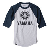 Factory Effex Yamaha Baseball T-Shirt Grey/Black