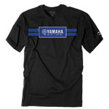 Factory Effex Yamaha Racing Stripes T-Shirt Black