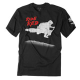 Factory Effex Youth Honda Red Rider T-Shirt Black