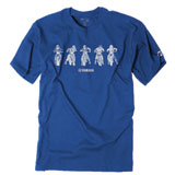 Factory Effex Youth Yamaha Lineup T-Shirt Royal