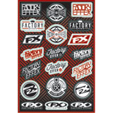 Factory Effex Icon Sticker Sheet