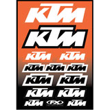 Factory Effex KTM Sticker Sheet