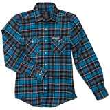 Factory Effex Suzuki Flannel Long Sleeve Button Up Shirt