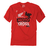 Factory Effex Youth Honda Paint T-Shirt  Red