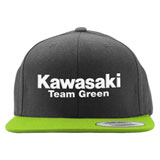 Factory Effex Kawasaki Team Green Snapback Hat Black/Green