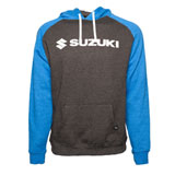 Factory Effex Suzuki Horizon Hooded Sweatshirt Royal/Charcoal