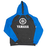 Factory Effex Yamaha Stack Hooded Pullover Sweatshirt Charcoal/Royal