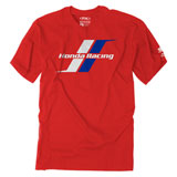 Factory Effex Honda Stripes T-Shirt Red