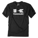 Factory Effex Kawasaki Flying K T-Shirt Heather Charcoal