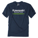 Factory Effex Kawasaki Stripes T-Shirt Navy
