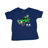 Factory Effex Toddler Kawasaki Truckin T-Shirt Navy