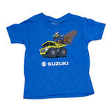 Factory Effex Toddler Suzuki Earthmover T-Shirt Royal