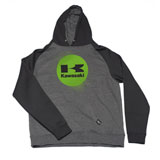 Factory Effex Youth Kawasaki Splat Zip-Up Hooded Sweatshirt
