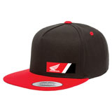 Factory Effex Honda Wedge Snapback Hat Black/Red
