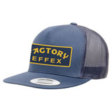 Factory Effex FX Smokin Snapback Trucker Hat Navy