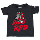 Factory Effex Toddler Honda Ride Red Wolf T-Shirt Black