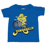 Factory Effex Toddler Yamaha Hauler T-Shirt Royal