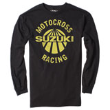 Factory Effex Suzuki Vet Long Sleeve T-Shirt Black