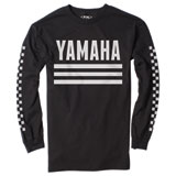Factory Effex Yamaha Racer Long Sleeve T-Shirt Black