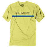 Factory Effex Suzuki Throwback T-Shirt Yellow