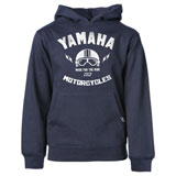 Factory Effex Youth Yamaha Helmet Hooded Sweatshirt Navy