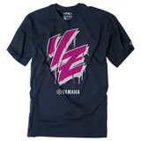 Factory Effex Youth Yamaha Drip T-Shirt Navy