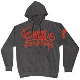 Famous Stars & Straps Cross Up Hooded Sweatshirt