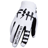 FastHouse Speed Style Let Live Gloves White