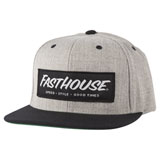 FastHouse Speed Style Good Times Hat Heather Grey/Black