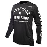 FastHouse Heritage Jersey Black