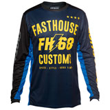 FastHouse Worx 68 Jersey Blue/Yellow