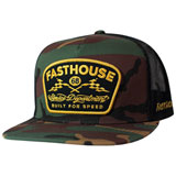 FastHouse Service Snapback Hat Camo